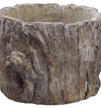 Mini Tree Trunk Pot