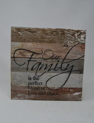 Our Family Reclaimed Pallet Sign