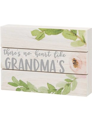 Like Grandma's Floral Pallet Sign