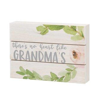 Like Grandma's Floral Pallet Sign