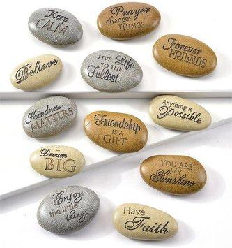 Sentimental Mini River Stones (12 Styles)