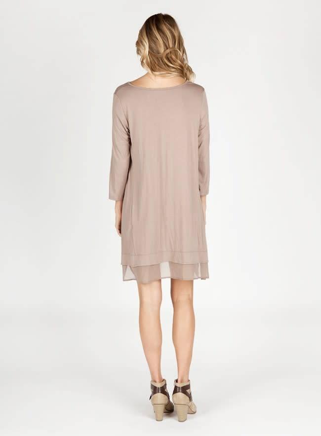 3/4 Sleeve Chiffon Slip Extender