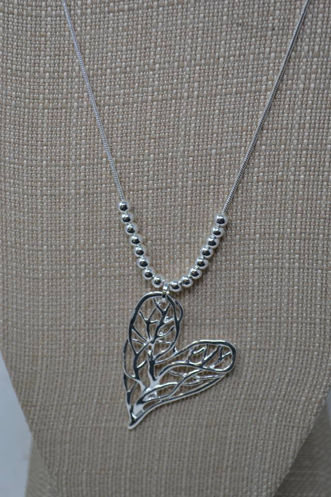 Tree of Life Heart Necklace