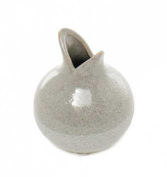Flared Ceramic Bulb Vase (2 Sizes)