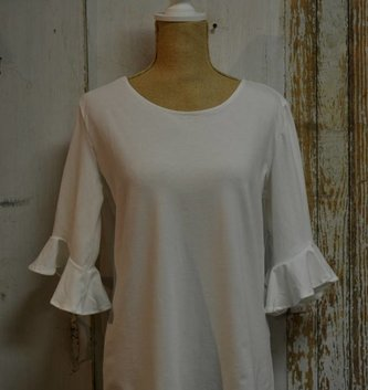 3/4 Bell Sleeve Top (3 Colors)
