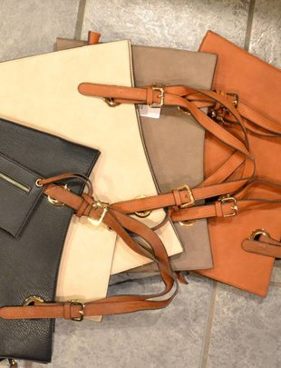 City Satchel Bag (4 Colors)