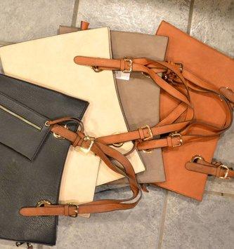 City Satchel Bag (5-Colors)