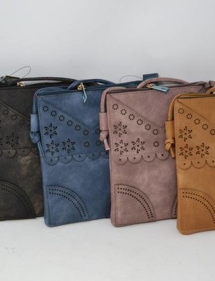 Cutout Crossbody (5 Colors)