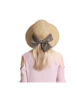 Straw Summer Hat w/ Bow
