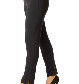 Alisha Black Travel Pencil Pant