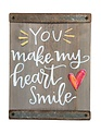 Sentiment Wooden Block Sign (7 Styles)
