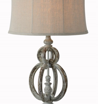 Large Vintage Tanner Table Lamp