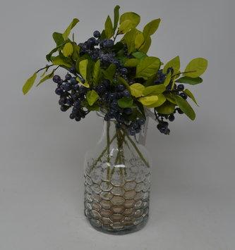 Mini Blueberry & Foliage Pick