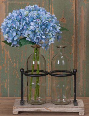 Light Blue Hydrangea Bloom Pick