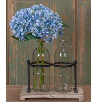 Light Blue Hydrangea Bloom Pick