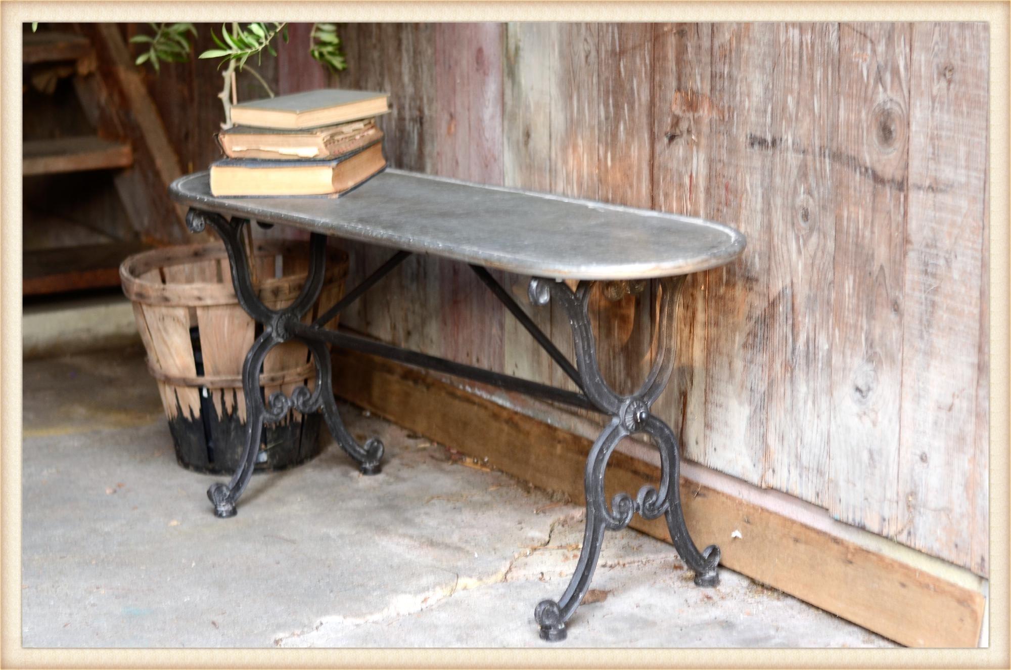 Galvanized Riser Bench