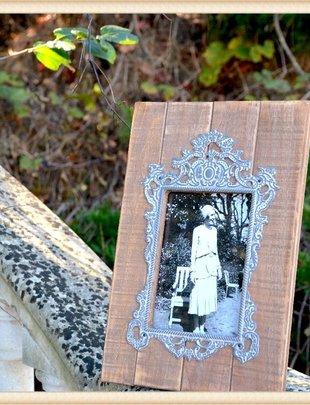 French Tin Shiplap Frame