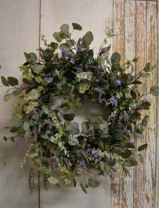 Eucalyptus & Lavender Custom Wreath