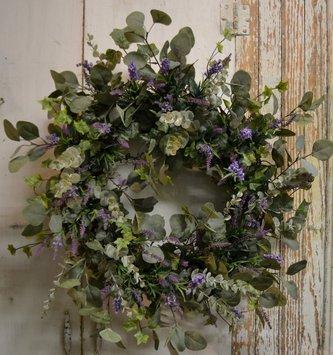 Eucalyptus & Lavender Custom Wreath