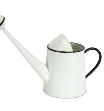 "12.5"" Enamel Watering Can"