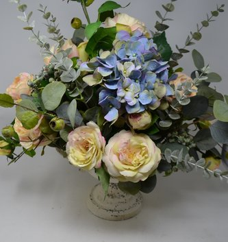 Custom Rose Hydrangea Centerpiece