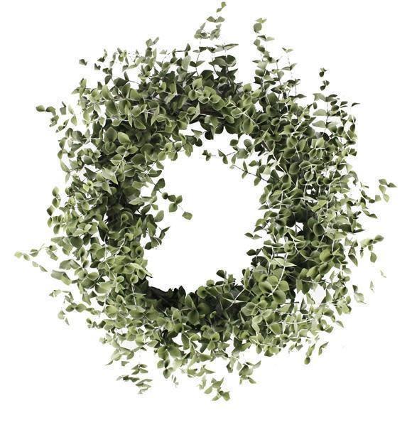 """34"""" Sage Green Foliage Wreath"""