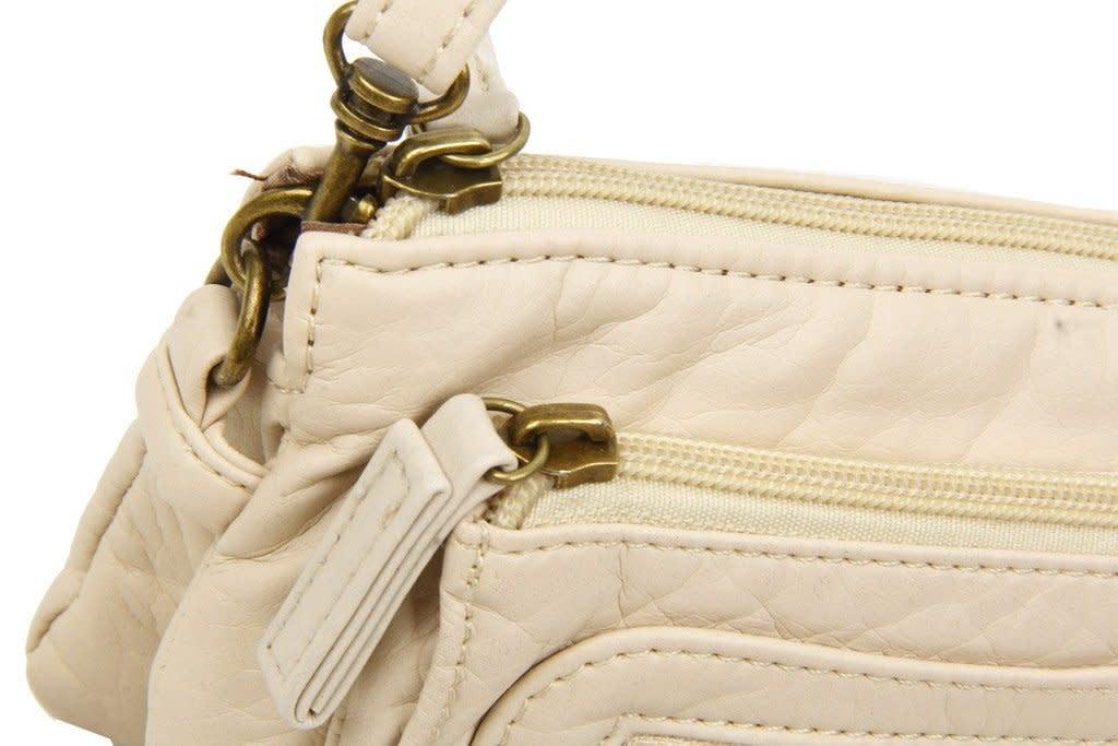Pasadena Vegan Leather Crossbody Wristlet