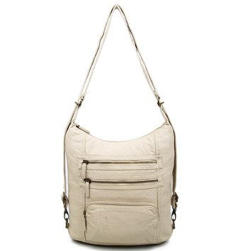 Pasadena Vegan Leather Backpack Purse (6 Colors)