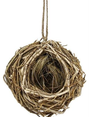 Hanging Natural Twig Nest