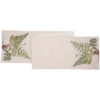 6' Woodland Fern Table Runner