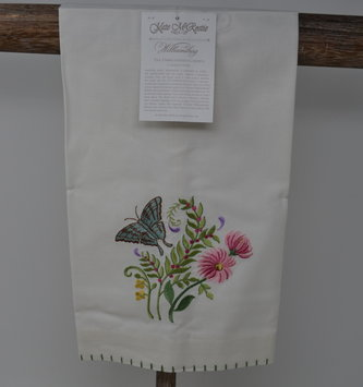 Embroidered Floral Towel (2 Styles)