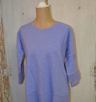 Open Weave Pocket Tunic (3 Colors)