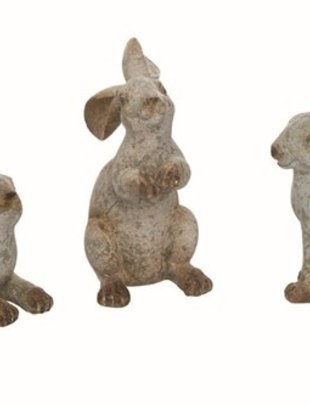 Small Aged Green Rabbit (3 Styles)
