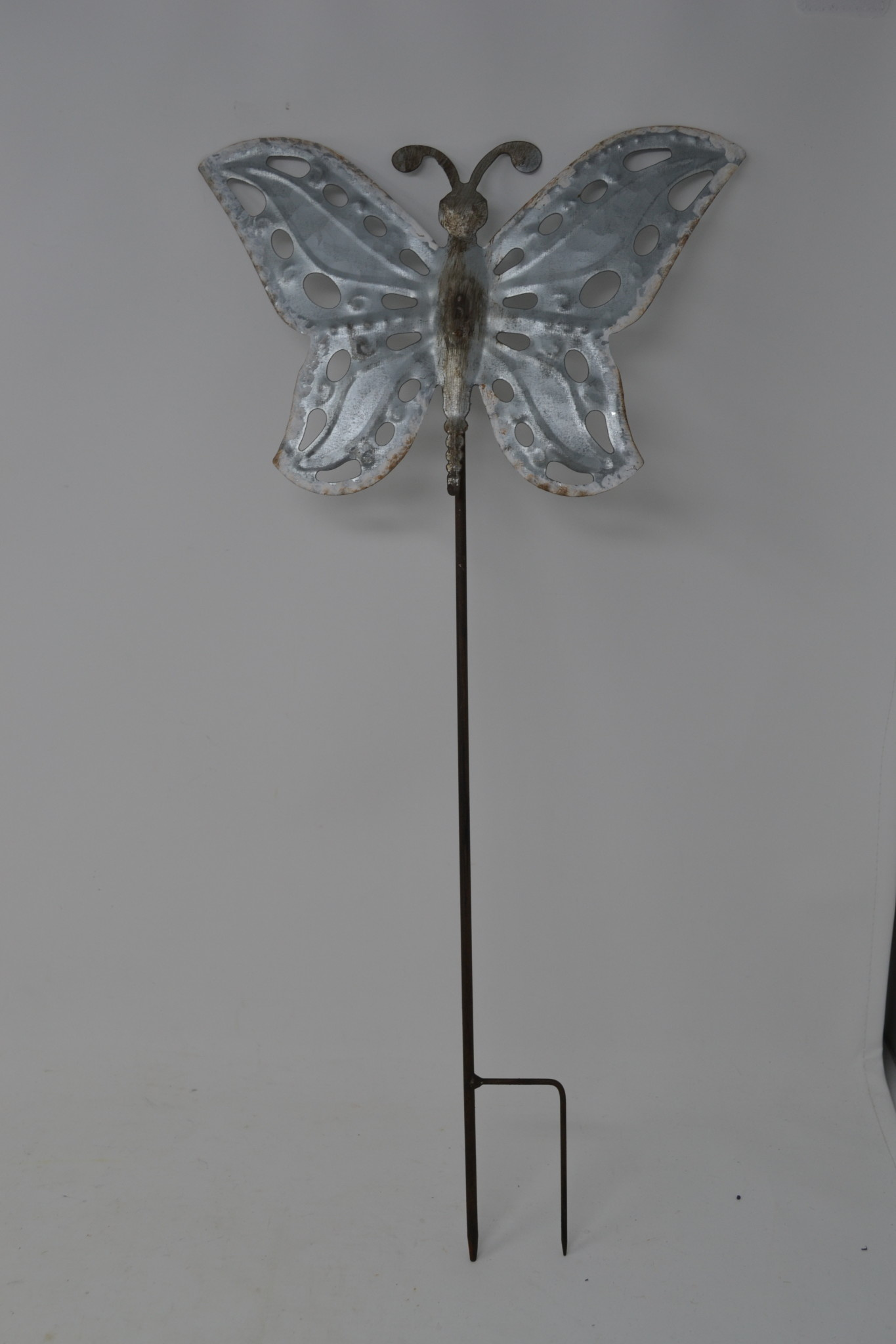 Galvanized Butterfly Stake (3-Styles)