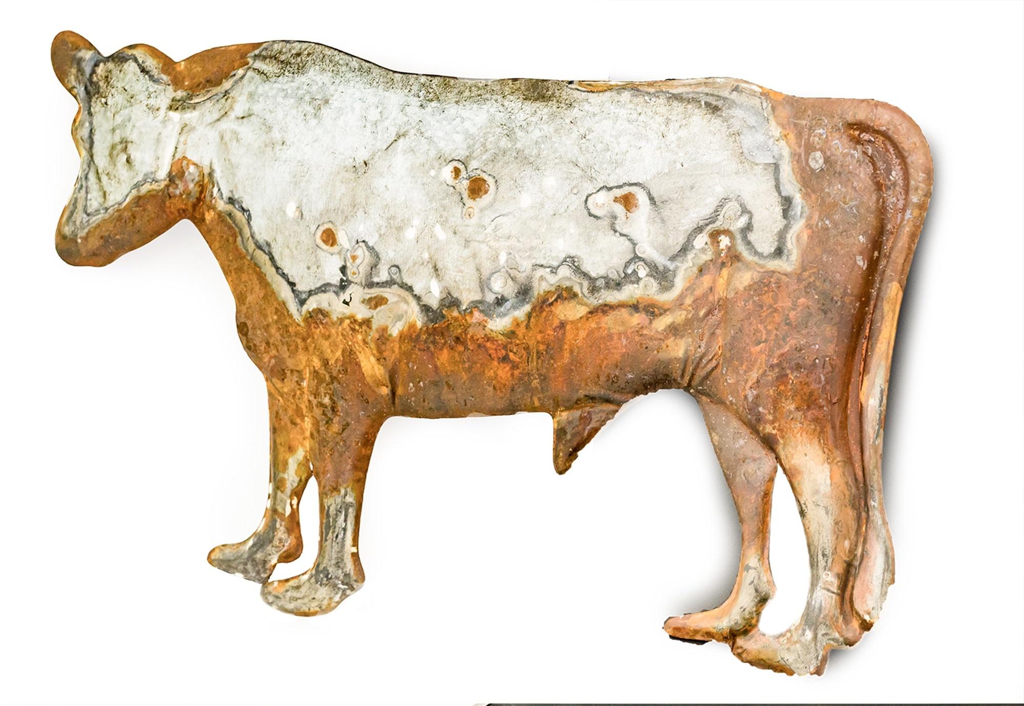 Metal Cow Wall Art