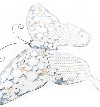 Whimsical Galvanized Butterfly