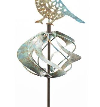Globe Bird Spinner Stake
