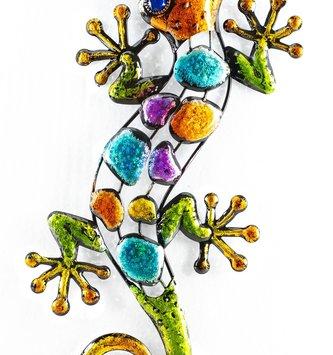 Colorful Geometric Gecko (2 Sizes)