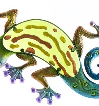 Whimsical Garden Gecko
