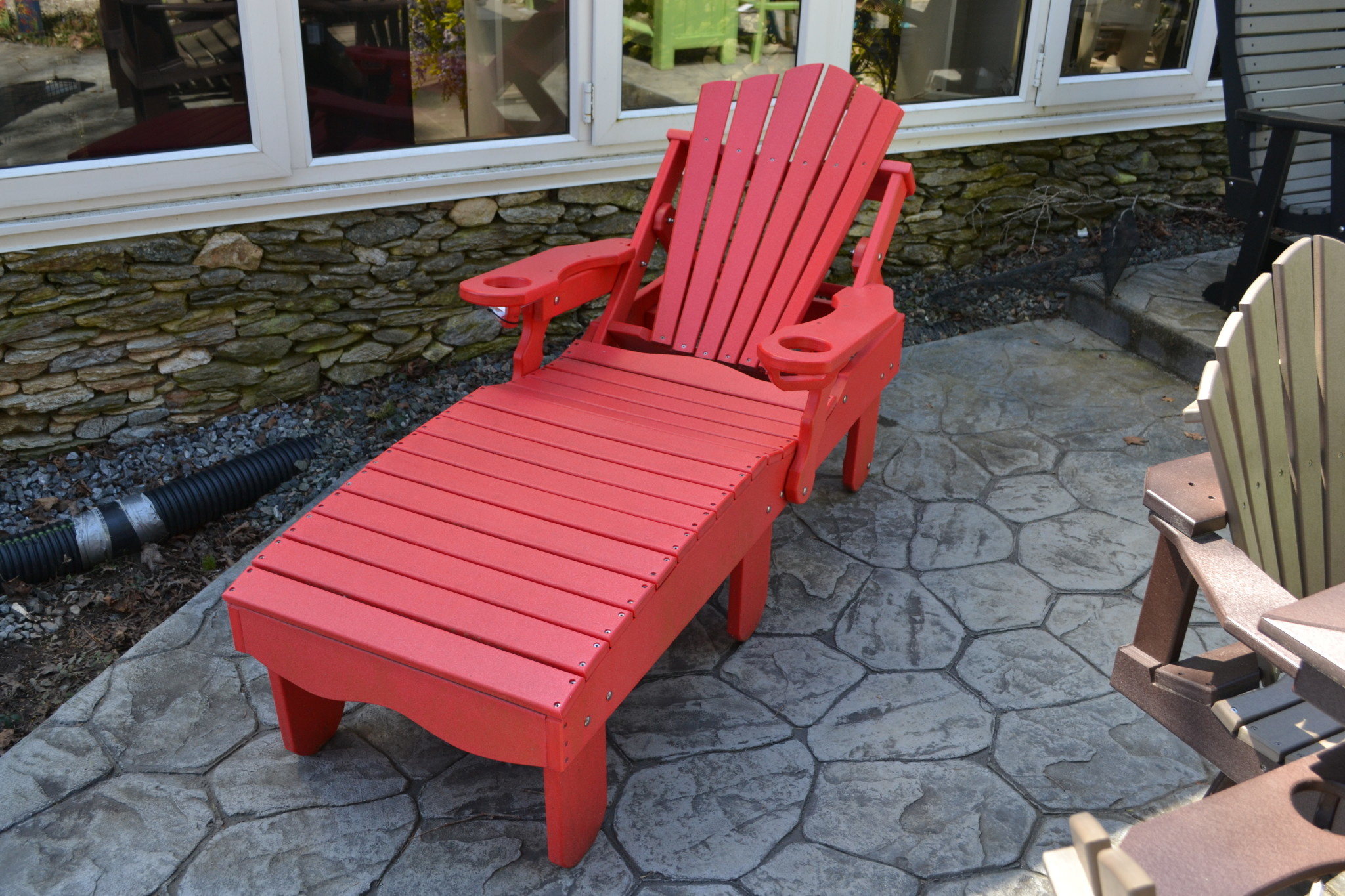 - Outdoor Chaise Lounge Chair Amish Made Polywood Made In USA