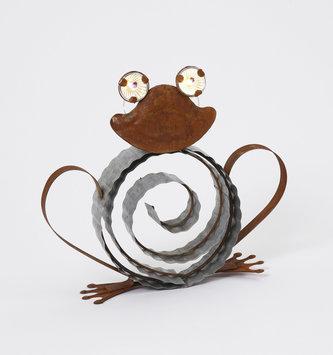3D Solar Galvanized Frog