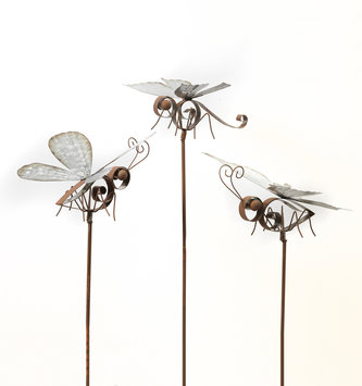 Rustic Galvanized Insect Stake