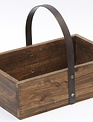 Rustic Wooden Tray Planter