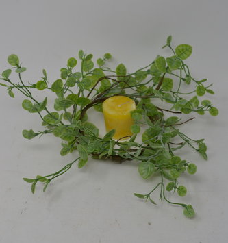 Wild Foliage Candle Ring