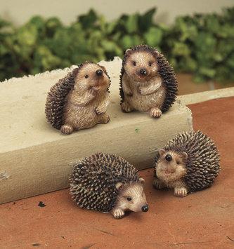 Mini Resin Hedgehog (4 Styles)