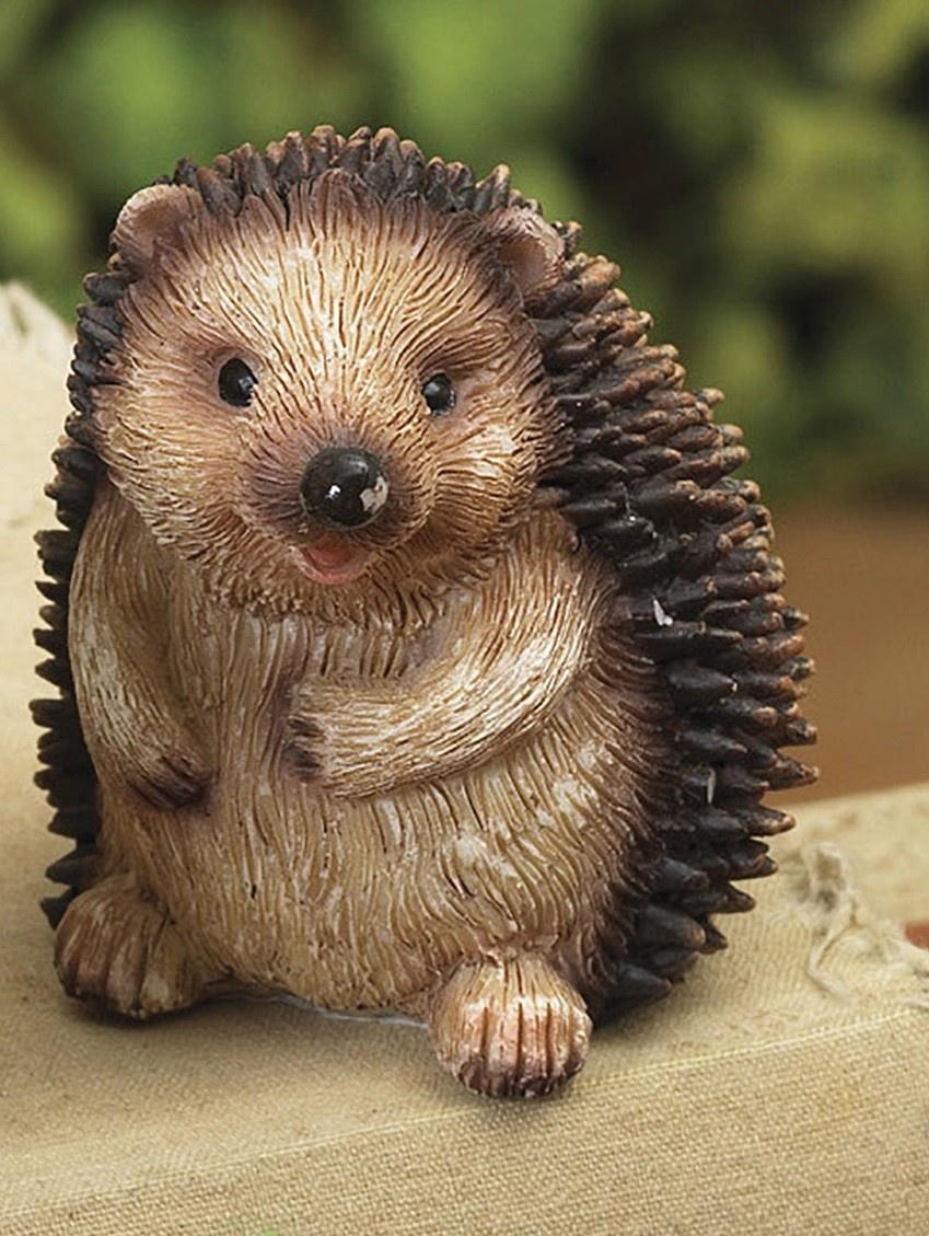 Mini Resin Hedgehog