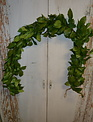 6-Ft Lemon Leaves Garland