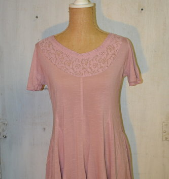 Lace Trim Knit Top (2 Colors)