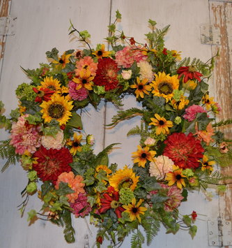 Custom Farmhouse Wreath