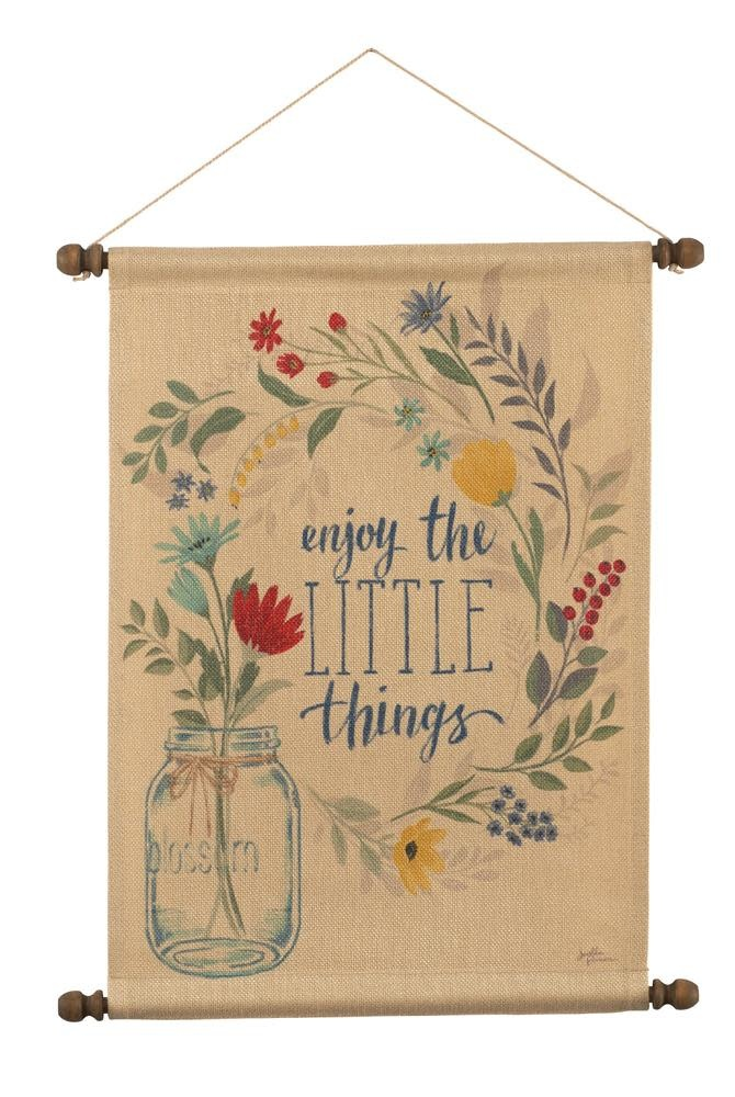 Blooming Thoughts Hanging Banner
